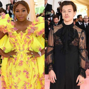 Serena Williams, Harry Styles, 2019 Met Gala,